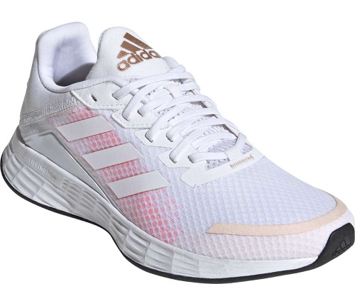 Adidas Duramo SL Womens Category: Running Color: Cloud White - Cloud White - Signal Pink ItemNumber: WFW3222