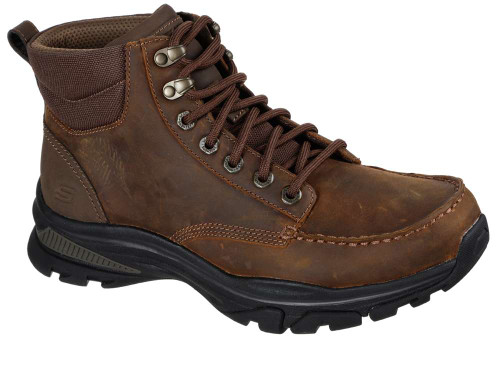 Skechers Ralcon Top Point Mens Category: Boots Color: Dark Brown ItemNumber: M204207-CDB
