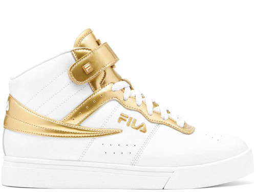 Fila Vulc 13 Anodized Womens Category: Fashion Sneakers Color: White - Metallicgold - Metallicgold ItemNumber: W5FM01157-136