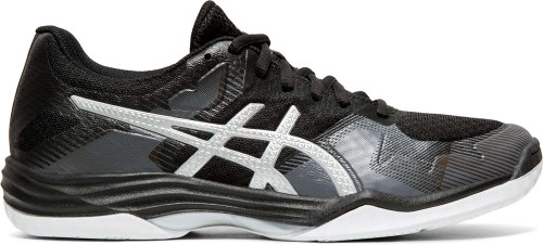 Asics GEL-Tactic Womens Category: Indoor Court Color: Black - Silver ItemNumber: W1072A035-001