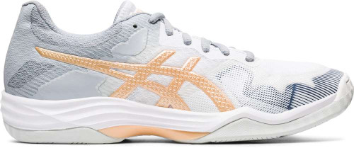 Asics GEL-Tactic Womens Category: Indoor Court Color: White - Champagne ItemNumber: W1072A035-102