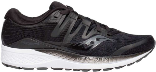 SAUCONY Women's Ride ISO Wide running shoes feature an engineered mesh upper for a dynamic and lightweight fit. Lace-up front for a secure fit. Woven heel piece provides structure and support for a lock-down fit. Updated ISOFIT and all new FORMFIT technologies create a dynamic fit system by adapting to the shape and motion of the runner's foot. EVERUNTM topsole construction and PWRFOAM midsole for enhanced energy return and continuous cushioning throughout the run. Rubber outsole.