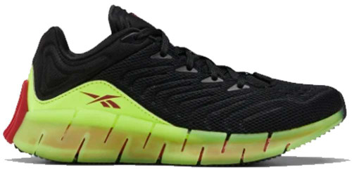 Reebok Zig Kinetica Boys Category: Running Color: Black - Solaryellow - Excellentred ItemNumber: BFX4126