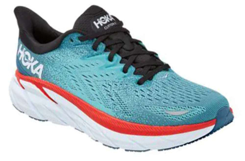 Hoka One One Clifton 8 Mens Category: Running Color: Real Teal - Aquarelle ItemNumber: M1119393-RTAR