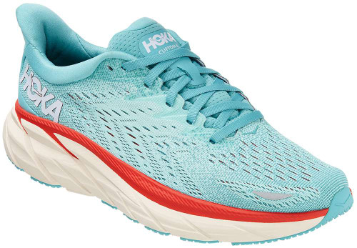 Hoka One One Clifton 8 Womens Category: Running Color: Aquarelle - Eggshell Blue ItemNumber: W1119394-AEBL