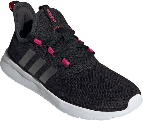 Adidas CloudFoam Pure 2-0 Womens Category: Fashion Sneakers Color: Coreblack - Ironmet - Teamrealmagenta ItemNumber: WH00944