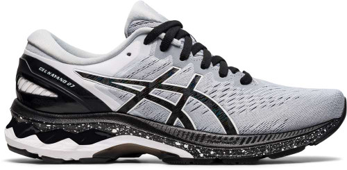 Asics GEL-Kayano 27 Womens Category: Running Color: Piedmont Grey - Black ItemNumber: W1012A990-020