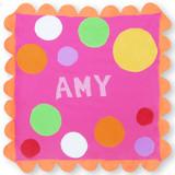 Pink Spot Stroller Blanket