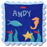 Wish on Fish Stroller Blanket