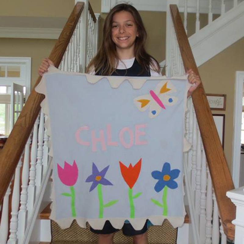 Mary Mary Stroller Blanket