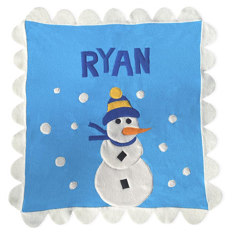 Snowman |  | Little Moonjumper - Limited Edition Stroller blanket