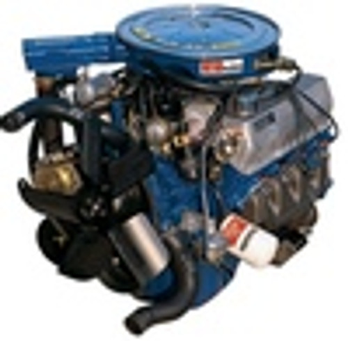 Ford Small Block 351W with Driver Side Water Pump Inlet Stainless Engine  Bolt Kit Windsor