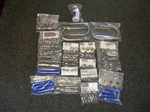 1958 Chevrolet Impala Biscayne Bel Air Complete Chassis Kit