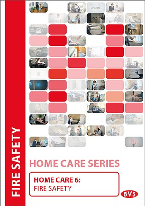 Home Care 6 - Fire Safety Training DVD