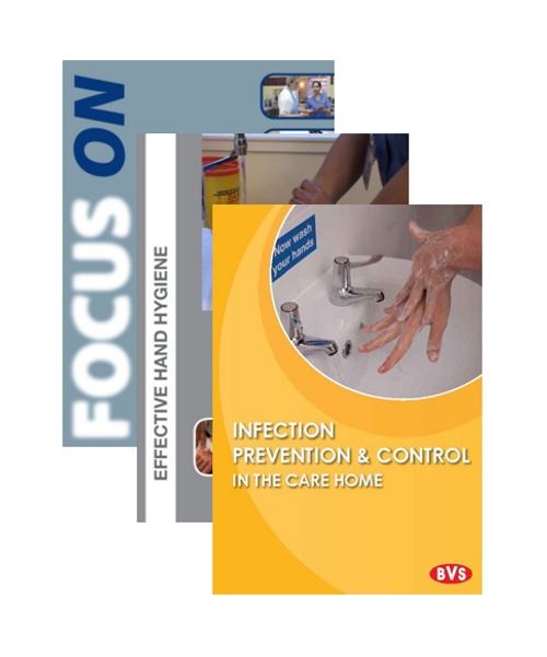Infection Prevention Care Home Training DVD Bundle