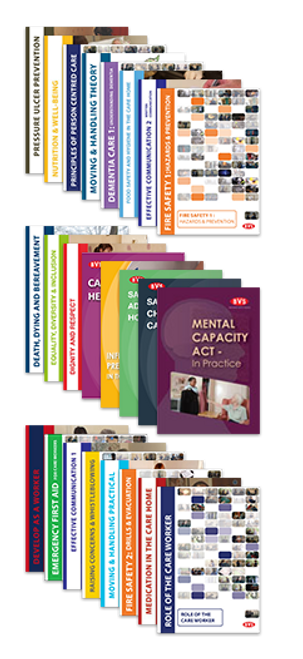 New Welsh Care Home Induction Framework Training DVD Bundle (AWIFHSC)