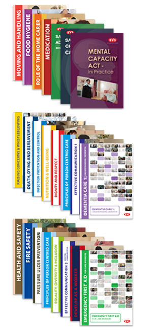 New Welsh Home Care Induction Framework Training DVD Bundle (AWIFHSC)