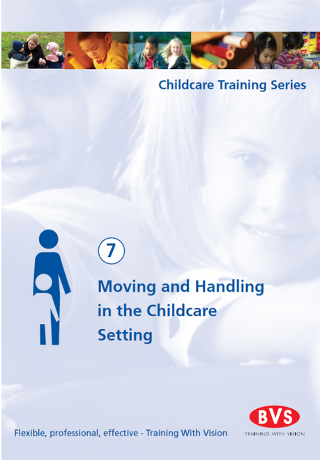 Moving and Handling in the Childcare Setting Training DVD