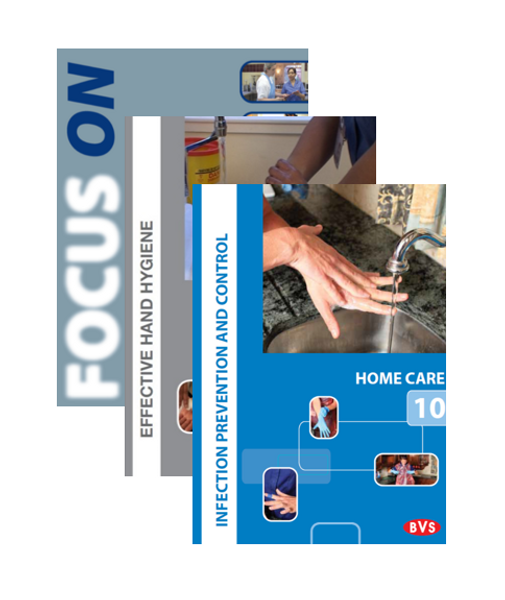 Infection Prevention Home Care Training DVD Bundle