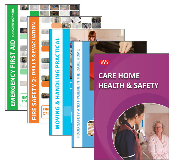Care Home Essentials Training DVD Bundle