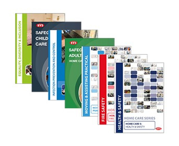 Home Care Mandatory Training Video Training DVD  Bundle