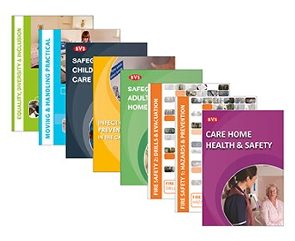Care Home Mandatory Training Video Training DVD  Bundle