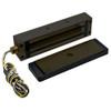 2013-US10B-GLB DynaLock 2013 Series 1200 LB Holding Force Single Electromagnetic Gate Lock with Gate Lock Bracket in Oil Rubbed Bronze