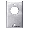 7024-US26 DynaLock 7000 Series Keyswitches Momentary 2 Double Pole Double Throw in Bright Chrome