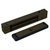 2511-US10B-DSM DynaLock 2500 Series 650 LB Mini-Mag Single Electromagnetic Lock for Outswing Door with Door Status Switch in Oil Rubbed Bronze