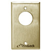 7004-US4 DynaLock 7000 Series Keyswitches Momentary 2 Single Pole Double Throw in Satin Brass