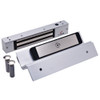 2511TJ-US26-DSM DynaLock 2500 Series 650 LB Mini-Mag Single Electromagnetic Lock for Inswing Door with Door Status Switch in Bright Chrome