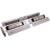 2522TJ2-US28-DSM2 DynaLock 2500 Series 650 LB Mini-Mag Double Electromagnetic Lock for Inswing Door with Door Status Switch in Satin Aluminum
