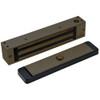 2585-US10B-DSM DynaLock 2500 Series 650 LB Single Bantam Mini Electromagnetic Lock for Outswing Door with DSM in Oil Rubbed Bronze
