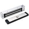 2585-US26-DSM DynaLock 2500 Series 650 LB Single Bantam Mini Electromagnetic Lock for Outswing Door with DSM in Bright Chrome