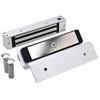 2585-TJ85-US26 DynaLock 2500 Series 650 LB Single Bantam Mini Electromagnetic Lock for Inswing Door in Bright Chrome