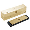 3006-US3 DynaLock 3006 Series 1500 LBs Single Outswing Free Egress Electromagnetic Lock in Bright Brass