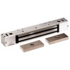2268-15-US28-ATS DynaLock 2268 Series Single Classic Low Profile Electromagnetic Lock for Pair Outswing Door with ATS in Satin Aluminum