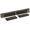 3002-US10B DynaLock 3000 Series 1500 LBs Double Electromagnetic Lock for Outswing Door in Oil Rubbed Bronze