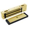 3000-US3 DynaLock 3000 Series 1500 LBs Single Electromagnetic Lock for Outswing Door in Bright Brass