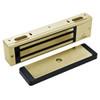 3000-US4 DynaLock 3000 Series 1500 LBs Single Electromagnetic Lock for Outswing Door in Satin Brass