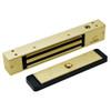 2511-US4 DynaLock 2500 Series 650 LB Mini-Mag Single Electromagnetic Lock for Outswing Door in Satin Brass