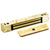 2268-10-US3-DSM DynaLock 2268 Series Single Classic Low Profile Electromagnetic Lock for Outswing Door with DSM in Bright Brass