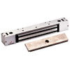 2268-10-US28-DYN DynaLock 2268 Series Single Classic Low Profile Electromagnetic Lock for Outswing Door with DYN in Satin Aluminum