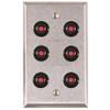 ASP-RP-48 ASP Alarm Control Single Gang Wall Plate