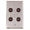ASP-RP-47 ASP Alarm Control Single Gang Wall Plate