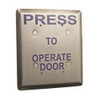 ASP-JP3-1 ASP Alarm Control Jumbo Push Plate Exit Release Stations