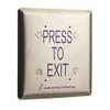 ASP-JP1-2 ASP Alarm Control Jumbo Push Plate Exit Release Stations