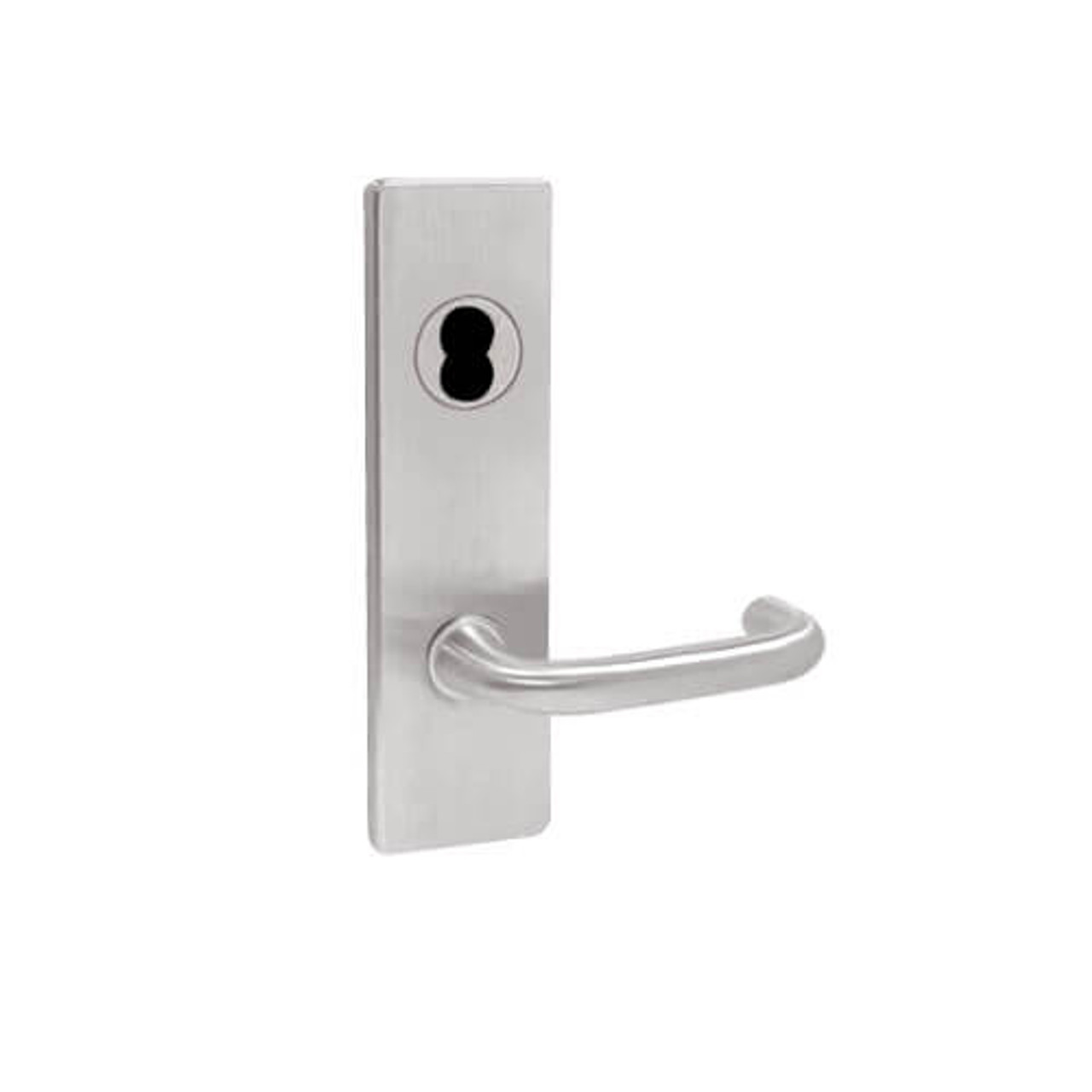 MA441BD-SN-630 Falcon Mortise Locks MA Series Classroom Security SN Lever with Escutcheon Style in Satin Stainless Finish