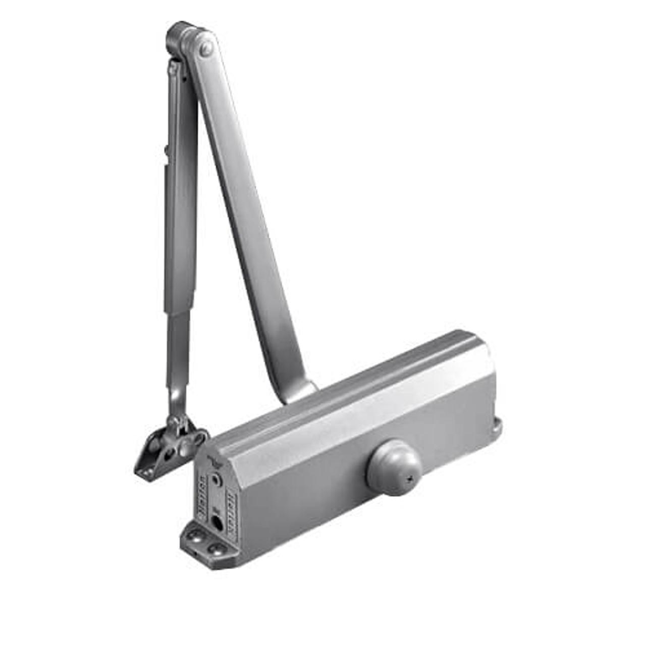1601-689 Norton 1600 Series Adjustable Door Closer in Aluminum