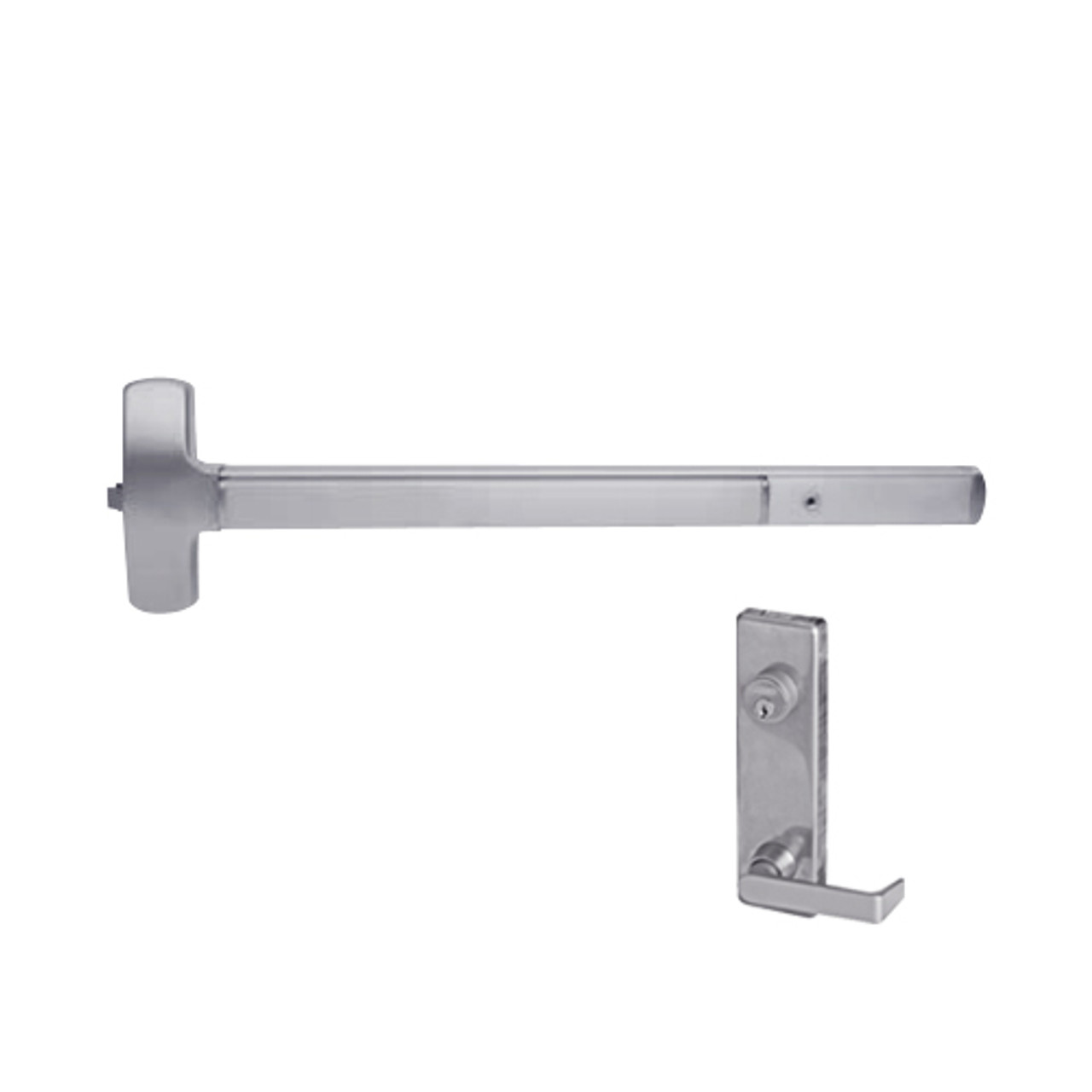 Pack of 1 Sargent 80 Series Satin Stainless Steel Nl Function Exit Device 36 Door Width
